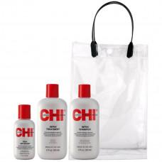 AKЦИЯ - Chi Infra Набор для увлажнения и питания волос