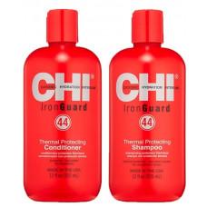 CHI 44 Iron Guard Thermal Protecting - Термозащитный набор для волос 750 мл*2