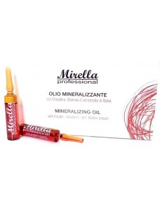 Mirella Professional - Минерализированное масло для волос 10 * 10 ml