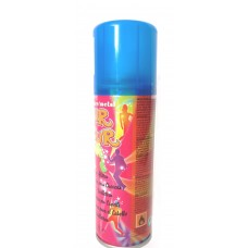 Fluo Hair Clour blue Спрей для волос синий, 125 мл.