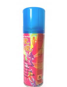 Fluo Hair Clour blue Спрей тонирующий для волос синий, 125 мл.