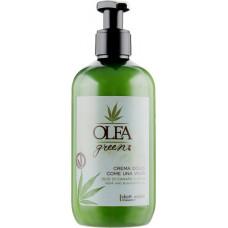 Dott. Solari Olea Green Crema Dolce Come Una Volta - Смягчающий крем для волос с маслом конопли и ежевики