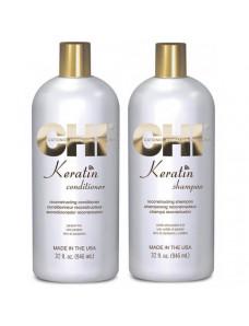 CHI Keratin Reconstructing Shampoo - Кератиновый шампунь без сульфатов, 946 мл