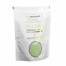 Personal Touch Be.One - Обесцвечивающий БЕЗАММИАЧНЫЙ зеленый порошок с ароматом лаванды, 450 мл
