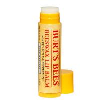 Burt's Bees Beeswax Lip Balm - Увлажняющий бальзам для губ с витамином Е и мятой,  4 г