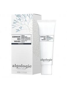 Algologie Gommage des Vagues - Hydra-refreshing Exfoliating Cream - Увлажняющий освежающий крем-эксфолиант 50 мл