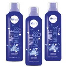 BBCOS Activator White Meches Plus - Окислитель для осветления с фиолетовым пигментом 6, 9, 12%, 1000 мл
