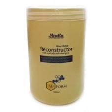 Mirella Professional Bee Form Nourishing Reconstructor - Восстанавливающий крем-кондиционер с маточным молочком и пшеничными протеинами 1000 мл