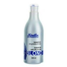 Mirella Blond Shampoo Шампунь для светлых, седых и обесцвеченных волос 300 мл/1000 мл