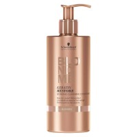 Schwarzkopf BlondMe Keratin Restore Bonding Cleansing Conditioner - Кондиционер-бондинг для ко-вошинга 500 мл