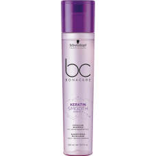 Schwarzkopf BC Bonacure Keratin Smooth Perfect Micellar Shampoo - Мицеллярный шампунь для гладкости волос, 250 мл