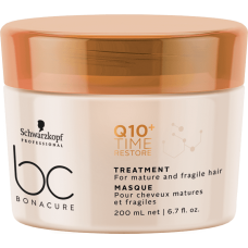 Schwarzkopf BC Bonacure Q10+ Time Restore Treatment - Омолаживающая маска 200 мл