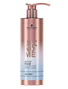 Schwarzkopf Professional Blond Me Blush Wash Silver - Бессульфатный увлажняющий шампунь, серебряный 250 мл