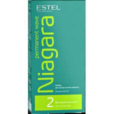 Estel Professional Niagara Permanent Wave №2 - Набор для химической завивки для нормальных волос