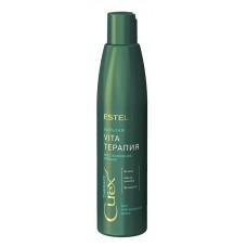 Estel Professional CUREX Therapy - Крем-бальзам для сухих, ослабленных и поврежденных волос, 250 мл.