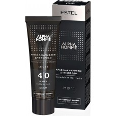 Estel Professional Alpha Homme Beard Color - Краска-камуфляж для бороды, 40 мл