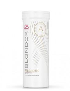 Белая обесцвечивающая пудра для мелирования Wella Professionals Blondor Freelights