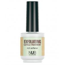 NUB Exfoliating Cuticle Treatment - Средство для смягчения кутикулы 15 мл