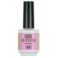 NUB Nail Restorer - Средство для восстановления ногтей с кератином 15 мл