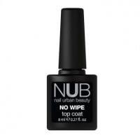 NUB No Wipe Top Coat - Закрепитель для гель-лака без липкого слоя 8 мл