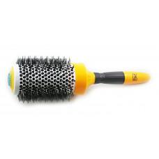 Антистатическая керамическая расческа-щетка для укладки 53мм - GKhair Silver 2 Keramic Ionic Brush