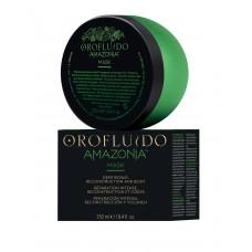 Orofluido Amazonia Mask - Восстанавливающая маска для ослабленных и поврежденных волос 250 мл