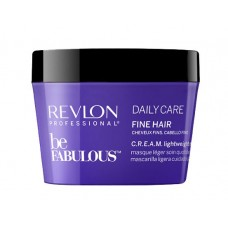 Revlon Be Fabulous Fine C.R.E.A.M. Lightweight Mask -  Легкая маска для тонких волос 200/500 мл