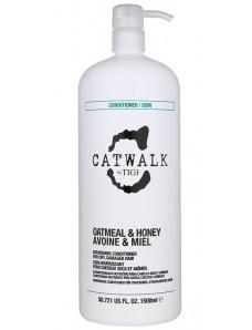 Tigi Catwalk Oatmeal & Honey Conditioner - Кондиционер восстанавливающий сухих волос, 1500 мл