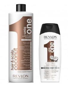 Uniq One All In One Coconut Conditioning Shampoo - Кондиционирующий шампунь для волос 300/1000 мл