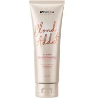 Indola Blond Addict Pinkrose Shampoo - Шампунь для светлых волос с розовым пигментом, 250 мл