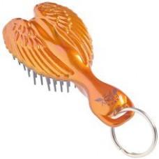 Расческа-брелок детская, оранжевая - Tangle Angel Baby Brush Orange
