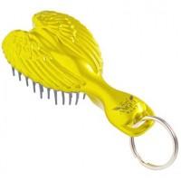 Расческа-брелок детская, золотая - Tangle Angel Baby Brush Gold