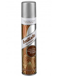 Batiste Dry Shampoo Medium and Brunette - Сухой шампунь 200 мл