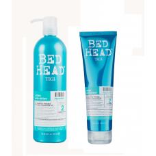 Tigi Urban Antidotes Recovery Conditioner Кондиционер увлажняющий для сухих повреждённых волос 750 мл
