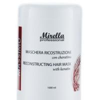 Mirella Professional Маска для реконструкции волос с кератином 1000 мл