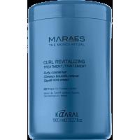 Kaaral Maraes Curl Revitalizing Treatment - Маска для кудрявых волос, 1000 мл