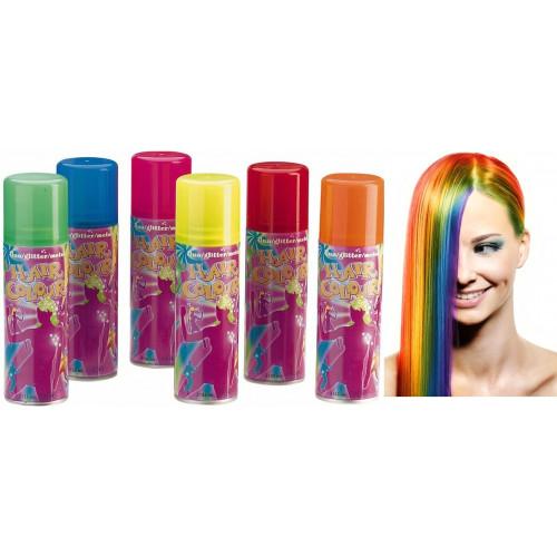 временная краска для волос баллончик