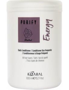 Kaaral Purify Energy Conditioner - Энергетический крем-кондиционер с экстрактом мяты и ментола, 1000 мл