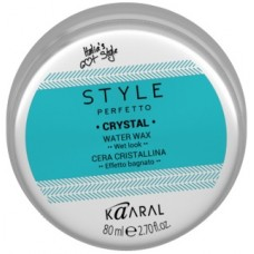 Kaaral Style Perfetto Crystal Water Wax - Воск для волос с блеском на водной основе 80 мл