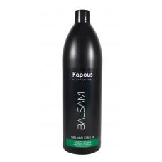 Kapous Professional - Бальзам тонизирующий для всех типов волос с ментолом и маслом камфоры 1000 мл.
