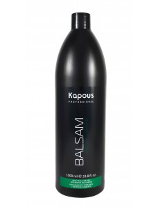 Kapous Professional Бальзам тонизирующий для всех типов волос с ментолом и маслом камфоры 1000 мл.