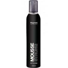 Kapous Professional Mousse Strong - Мусс для волос СИЛЬНОЙ фиксации, 400 мл.