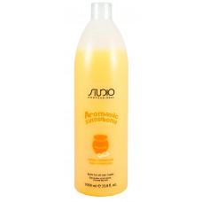 Kapous Studio Бальзам для всех типов волос с молочком миндального ореха, для частого использования 1000 мл