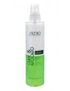 Kapous Studio - Двухфазная сыворотка для волос с маслами Авокадо и Оливы, 200 мл