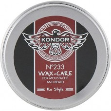 Kondor Wax 233 - Воск-уход для усов и бороды, 30 мл