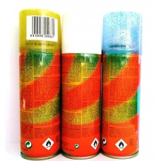 AKЦИЯ - Glitter Набор цветных окрашивающих спреев для волос с блесточками