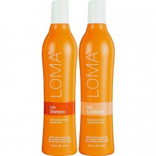 Loma Hair Care Daily - Набор для ежедневного использования без сульфатов, 355 мл*2