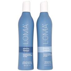 Loma Hair Care Moisturizing - Набор для увлажнения волос 355 мл*2