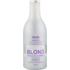 Mirella Arctic Blond Anti-Yellow Effect - Шампунь с протеинами шелка для светлых волос