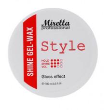 Mirella Professional Style Shine Gel-Wax - Блестящий гель-воск для укладки волос 100 мл